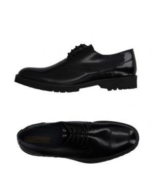 Обувь на шнурках GENEVE. Цвет: черный