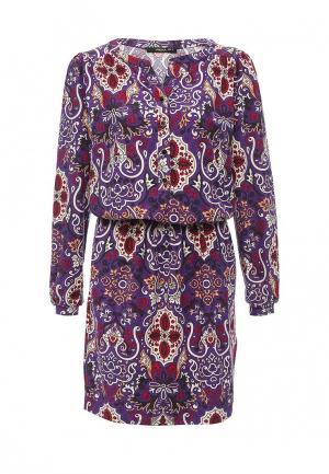 Платье Piena. Цвет: фиолетовый