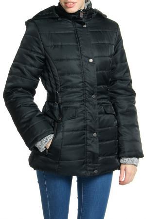 Куртка Harve Benard. Цвет: черный