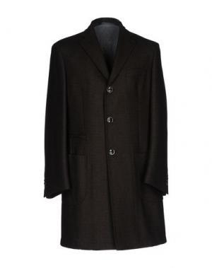 Пальто SARTORIA LATORRE. Цвет: темно-коричневый