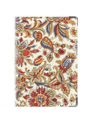 Обложка для паспорта Сказочная Tina Bolotina. Цвет: рыжий, красный