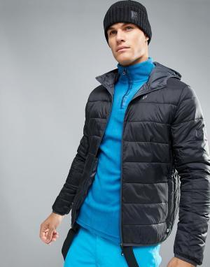 Protest Лыжная дутая куртка Nori. Цвет: черный