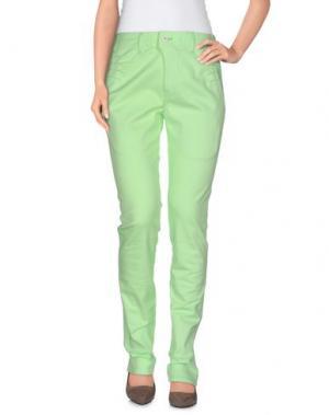 Повседневные брюки JULIEN DAVID. Цвет: светло-зеленый