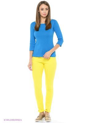 Брюки Flo&Jo. Цвет: желтый