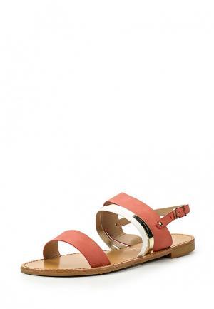 Сандалии Style Shoes. Цвет: коралловый