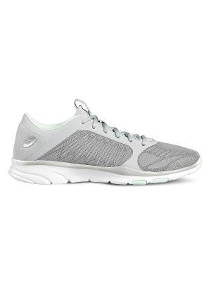 Спортивная обувь GEL-FIT TEMPO 3 ASICS. Цвет: серый, бирюзовый, серебристый