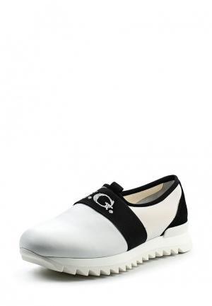 Кроссовки John Galliano. Цвет: белый