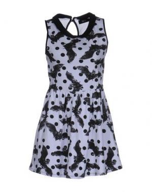 Короткое платье IRON FIST. Цвет: белый