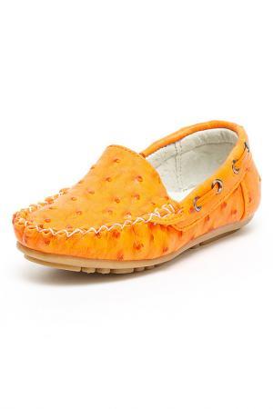 Туфли дошкольные MURSU. Цвет: оранжевый