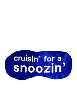 Anatomicals Шелковая маска для сна Cruisin For A Snoozin. Цвет: бесцветный