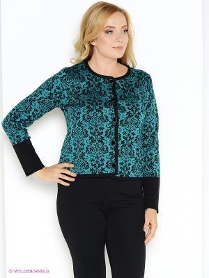 Жакет Milana Style. Цвет: зеленый
