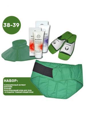 И00201 Комплект Женское здоровье, р-р 38-39, для улучшения здоровья и общего состояния SilverStep. Цвет: зеленый