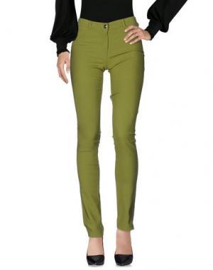 Повседневные брюки MORE by SISTE'S. Цвет: зеленый-милитари