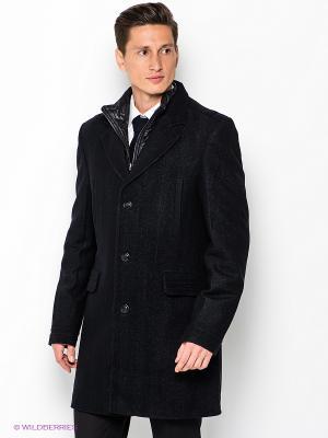Пальто ABSOLUTEX. Цвет: черный