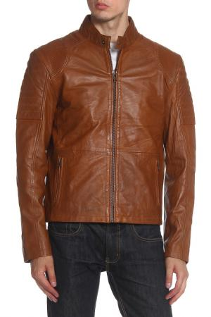 Куртка Barneys originals. Цвет: tan