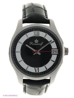 Часы Romanoff. Цвет: серебристый, черный