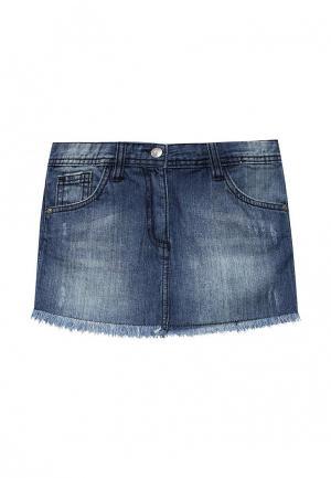 Юбка джинсовая Losan. Цвет: синий