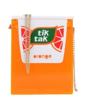 Сумка через плечо URANIA GAZELLI. Цвет: оранжевый