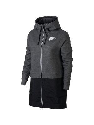 Куртка W NSW AV15 PRKA Nike. Цвет: черный
