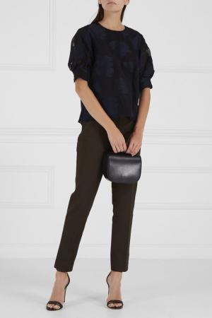 Классические брюки цвета хаки Joseph. Цвет: зеленый