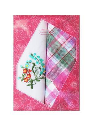 Носовые платки, 2 шт. ZLATA KORUNKA. Цвет: розовый