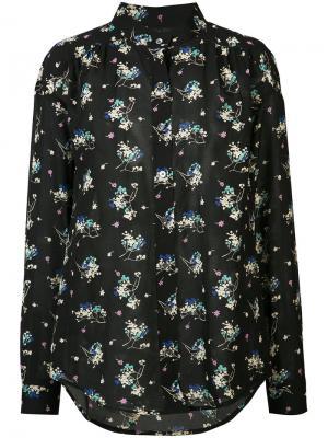 Рубашка Fay Closed. Цвет: чёрный