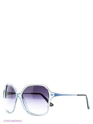 Солнцезащитные очки United Colors of Benetton. Цвет: голубой