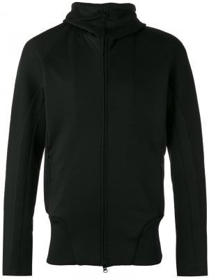 Куртка с капюшоном на молнии Y-3. Цвет: чёрный