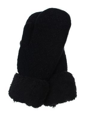 Варежки Olere. Цвет: черный
