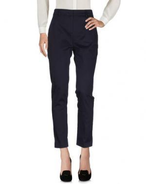 Повседневные брюки AGLINI. Цвет: темно-синий