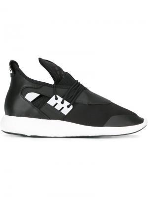 Эластичные кроссовки Y-3. Цвет: чёрный
