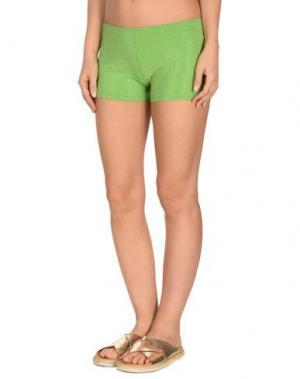 Пляжные брюки и шорты FISICO. Цвет: зеленый