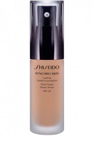 Устойчивое тональное средство Synchro Skin, оттенок Neutral 3 Shiseido. Цвет: бесцветный