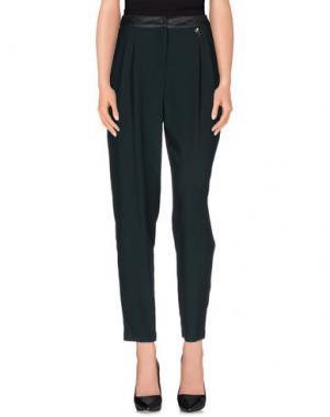 Повседневные брюки 22 MAGGIO by MARIA GRAZIA SEVERI. Цвет: темно-зеленый