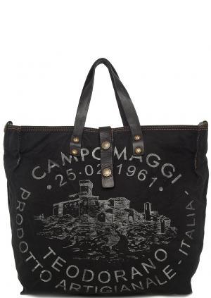 Сумка Campomaggi. Цвет: черный