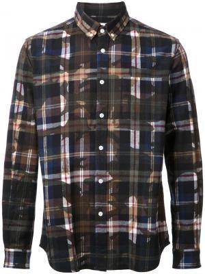 Рубашка Camoprint Hbns. Цвет: коричневый
