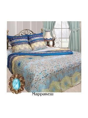 Постельное белье 2 сп. Sova and Javoronok. Цвет: голубой