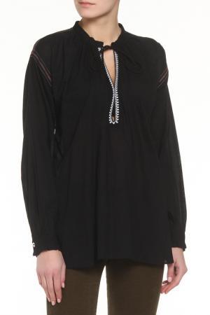 Блузка Zadig&Voltaire. Цвет: черный