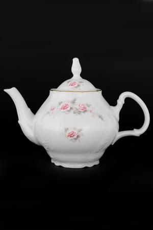 Чайник 1,2 л Bohemia. Цвет: белый, розовый, золотой