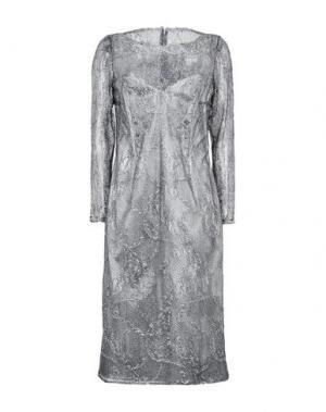 Платье до колена CAILAN'D. Цвет: свинцово-серый