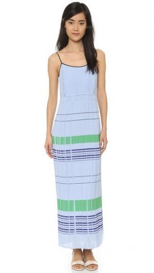 Макси-платье Bobby O'2nd. Цвет: небесный