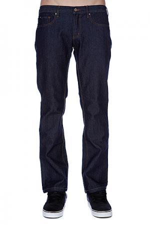 Джинсы прямые мужские классичческие  Classic Stretch Denim Indigo Rinse Circa. Цвет: синий