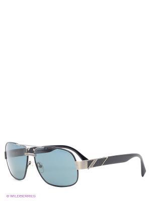 Солнцезащитные очки BLD 1416 101 Baldinini. Цвет: черный