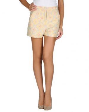 Повседневные шорты DRESS GALLERY. Цвет: небесно-голубой