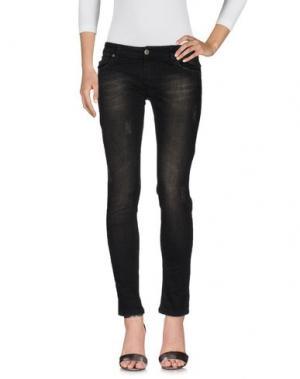 Джинсовые брюки CHILI PEPPERS. Цвет: черный