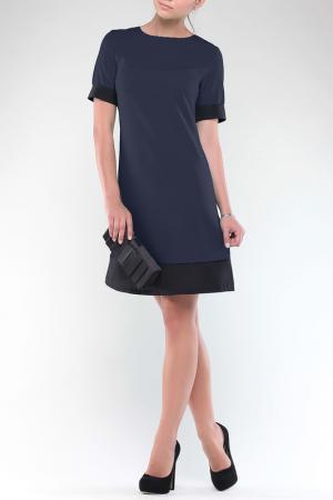 Платье REBECCA TATTI. Цвет: сине-черный