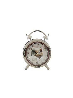 Часы  будильник 14,5* 6см. PATRICIA. Цвет: бежевый