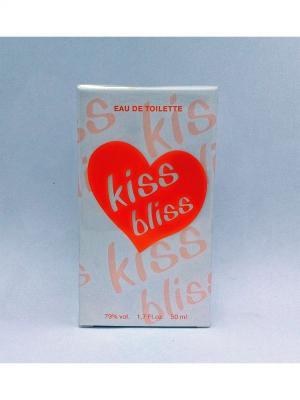 Kiss Ж bliss туалетная вода 50 мл ТД Покровка. Цвет: белый, оранжевый