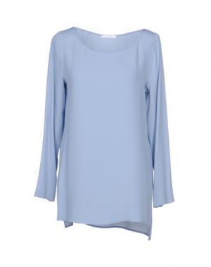 Блузка CARLA G.. Цвет: небесно-голубой