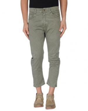 Повседневные брюки MINIMAL. Цвет: зеленый-милитари